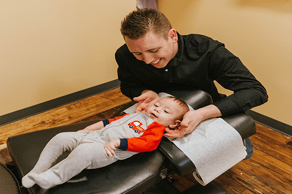 Pediatric Chiropractic Adjustments in Lexington